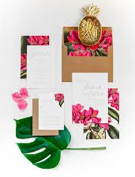 tropical wedding invitations suite tropical wedding invitation bougainvillea