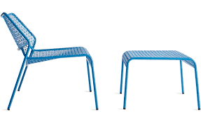 Dot Patio Furniture by Mesh Ottoman Hivemodern Com