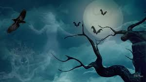 halloween sky background horrifying wallpapers group 40