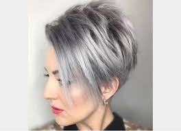 coupes cheveux courts coiffure femme cheveux courts court et gris coupe cheveux