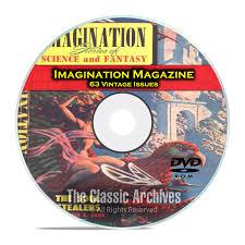 Backyard Science Dvd Imagination Magazine 63 Vintage Pulp Magazine Science Fiction