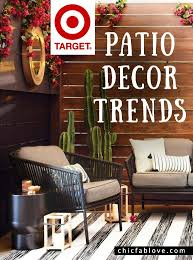 target patio decor trends 3 styles spring ready chic fab love