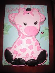 pink giraffe baby shower cake gallery picture cake design and