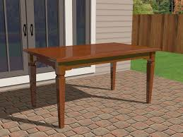 How To Build A Hexagon Picnic Table With Pictures Wikihow by 3 Ways To Refinish A Wood Table Wikihow