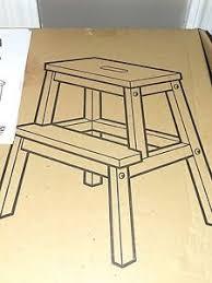 bekvam step stool new ikea bekvam step stool beech natural design by nike karlsson nib