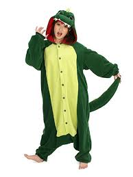 Authentic Halloween Costumes Adults Amazon Dinosaur Onesie Adults Clothing