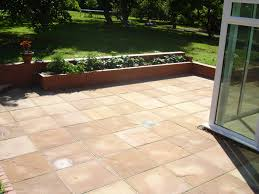 Indian Sandstone Patio by Patios In Ledbury Herefordshire Pave Your Way