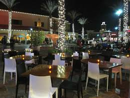 outdoor patio hospitality lighting design of 1252 tapas bar