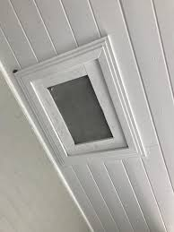 any way to secure this attic access homeowners