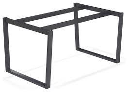 pieds de bureau design pied de table en bois free table bois recycl pied acier with pied