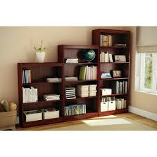target 3 shelf bookcase 3 shelf bookcase royal cherry south shore target