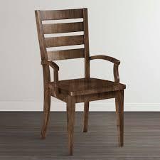 Custom Dining Room Furniture Custom Wood Arm Chair Dining Room Bassett Furniture