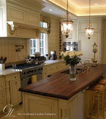 kitchen island wood countertop walnut wood countertop in villanova pennsylvania https www
