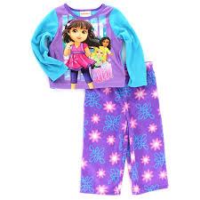 and friends toddler purple fleece pajamas 2t