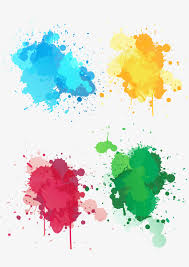 creative splashing ink ink color splash png and vector for free