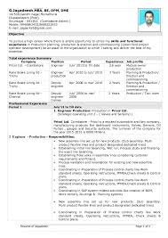 Mechanical Planning Engineer Resume Be Mechanical Engineer With 9 7 Years Experience In Production