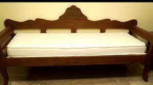 pull out sleeper sofa bed youtube