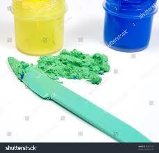 blue yellow jars paint mixed make stock photo 36367243 shutterstock