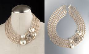 gold costume necklace images A new life for grandmother 39 s vintage costume jewelry jenne rayburn jpg