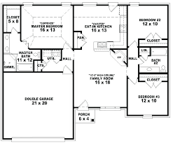 three bedroom house plans three bedrooms house plan cottage house plans medium size three