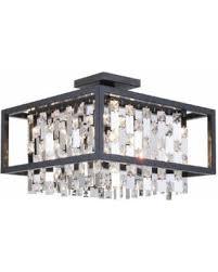 4 Light Semi Flush Ceiling Fixture by Spring Sales On Dvi Lighting Dvp6312 12 75