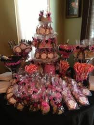 Pink And Black Candy Buffet by Purple Silver White Candy Buffet Candy Buffets By Dressy