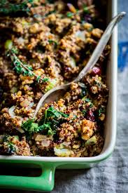 gluten free walnut and kale quinoa healthy seasonal recipes