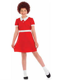 child orphan annie costume fs3582 fancy dress ball