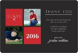 graduation thank you card squares graduation thank you cards mixed combination grey