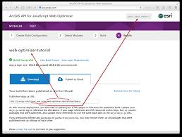 arcgis api for javascript web optimizer guide arcgis api for