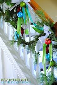 Banister Decor 12 Beautiful Christmas Banisters