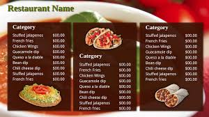restaurant signage templates signagecreator
