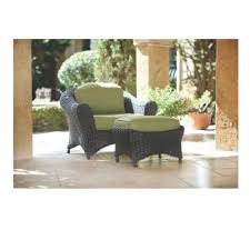 Outdoor Furniture Martha Stewart by Martha Stewart Living Lake Adela Charcoal 2 Piece Patio Lounge