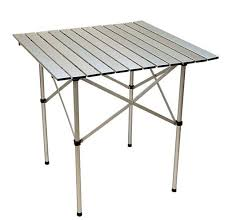 Coleman Camp Table Folding Table Portable Aluminum Camping Table Evs4005t White