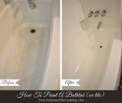 Bathroom Tile Refinishing by Diy Painted Bathtub Follow Up Your Questions Answered