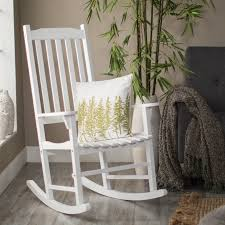 Best 25 White Rocking Chairs Coral Coast Indoor Outdoor Mission Slat Rocking Chair White