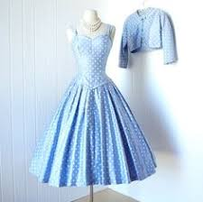 fashion vintage style dress rockabilly dress polka dots dress