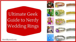 nerdy wedding rings ultimate roundup of nerdy engagement rings geeky wedding bands
