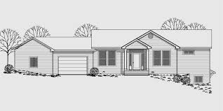 walk out basement floor plans walkout basement house plan great room angled garage