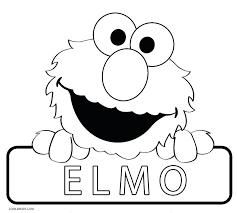 elmo coloring pages u2013 vonsurroquen