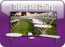 tables and chair rentals prince of the city llc castle services