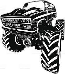 monster trucks clipart cartoon monster truck stock vector art 506667697 istock