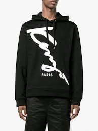 hoodie designer signature monochrome hoodie black designer style id f765sw1504md