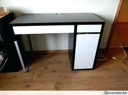 bureau noir et blanc bureau noir et blanc bureau ikea noir bureau ikea blanc awesome