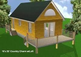 16x32 cabin w loft plans package blueprints material list