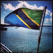 Tanzanian Flag Stone Town Zanzibar Photoset Dame On A Plane