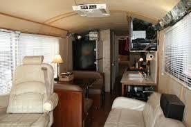 Motorhome Custom Interiors Converted Bus Interiors Custom Bus Conversions