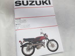 suzuki t125 stinger service manual u2022 22 99 picclick