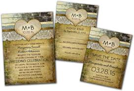 Rustic Invitations Country Rustic Wedding Invitations Paperinvite