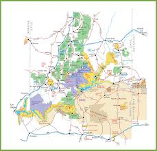parks map utah national parks map